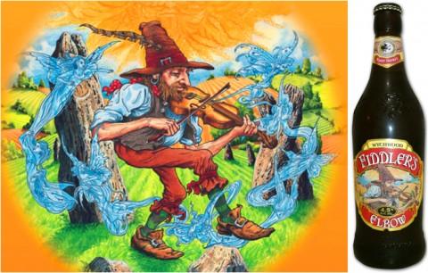 Пиво Fiddler's Elbow («Локоть скрипача»)