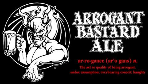 Пиво «Arrogant Bastard» («Высокомерному Ублюдку»)
