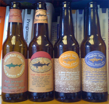 """Пиво Dogfish Head (""""""""Акула-катран)"""