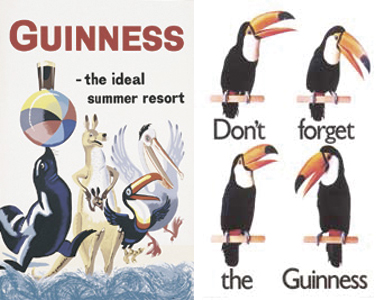 История рекламы мирового пивного бренда Guinness