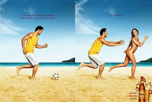 Рекламная кампания пива Skol