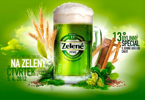 zelene пиво