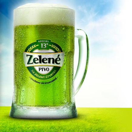 Зеленое пасхальное пиво