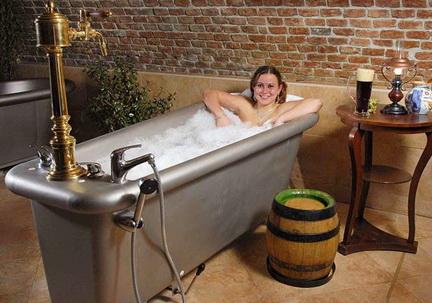 пивная ванна в Чехии