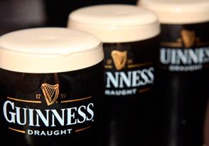 Guinness продемонстрировал рост объемов продаж на украинском рыке пива