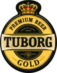 этикетке пива Tuborg