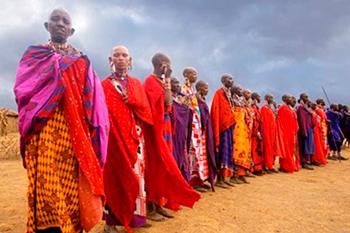 Древний ритуал пивопития у африканцев