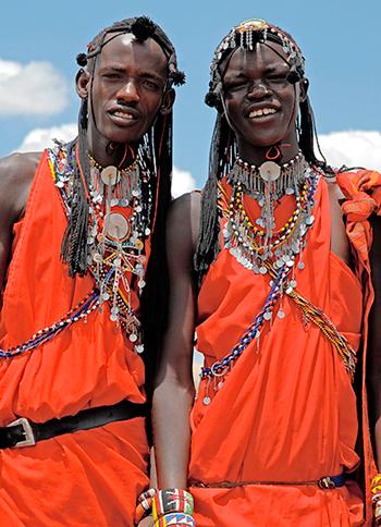 Африканский ритуал пивопития