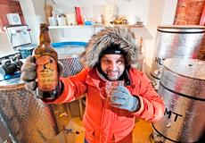 Новое пиво выдерживает мороз в -90 градусов
