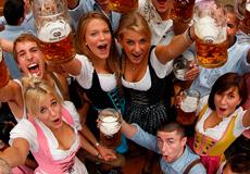 Пивной фестиваль Октоберфест - миллион литров пива за 2 дня