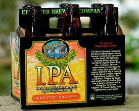 Пиво Eel River Organic IPA