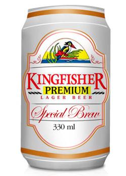 Индийское пиво Kingfisher