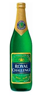 Умеренное индийское пиво Royal Challenge