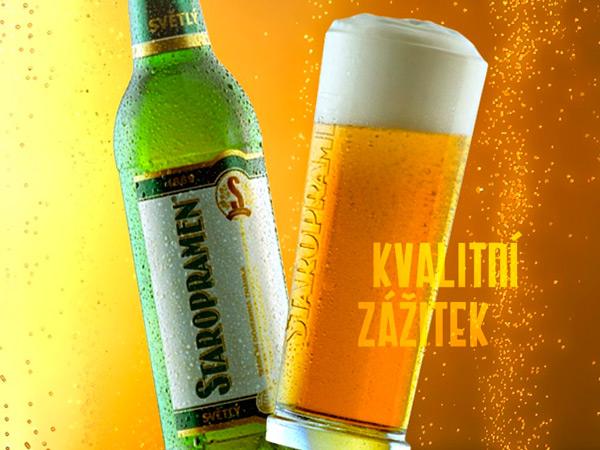 светлое чешское пиво