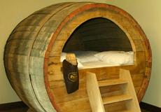 Potts Naturpark Brauerei – отель где можно переночевать в настоящей бочке для пива