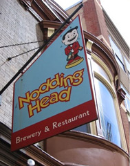Пивоварня Nodding head brewery