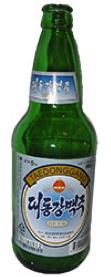 Корейское пиво Taedonggang