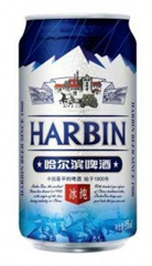 Китайское пиво Harbin