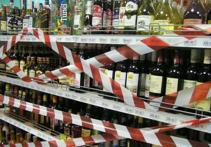 В Крыму запретят продаду алкоголя с украинскими акцизными марками