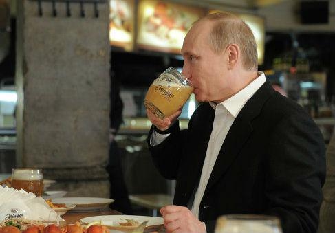 Союз российских пивоваров обратился к Путину