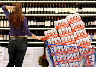 Перед бурей американцы скупали алкоголь