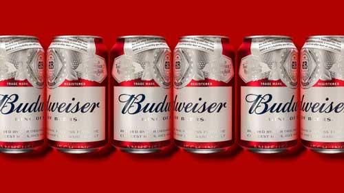 Новый дизайн пива Budweiser