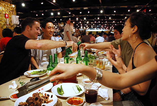 Корейцы больше всех в мире потребляют алкоголь