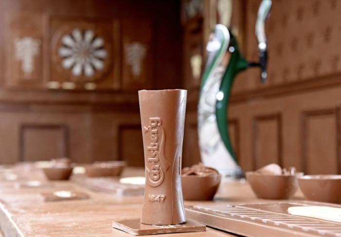 Шоколадный бар в Лондоне