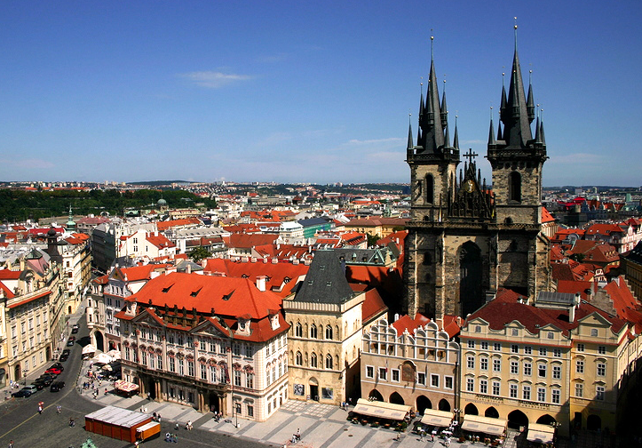 Прага лидирует среди городов ЕС