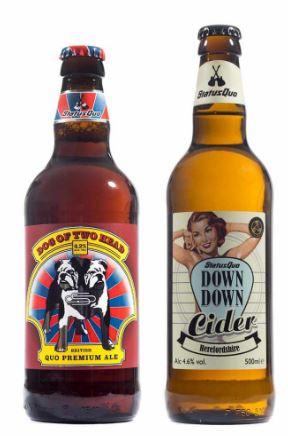 Пиво и сидр от Status Quo