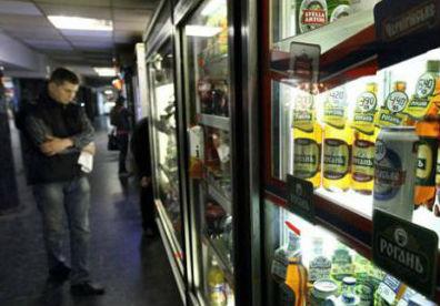 Продажа пива в МАФах