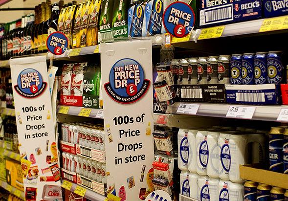 В Британии пиво из пабов перетекает в супермаркеты