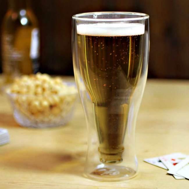 Креативные бокалы для пива Bottle-in-a-Glass Beer Glasses