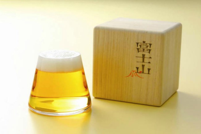 Креативные бокалы для пива Fujiyama Beer Glass