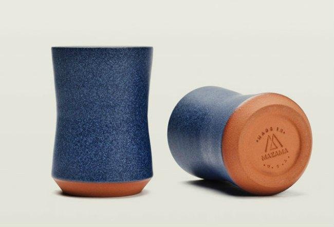 Креативные бокалы для пива - Mazama Belted Cup