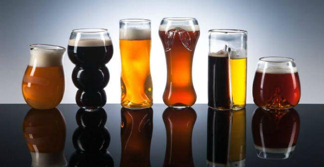 Креативные бокалы для пива - Pretentious Beer and Glassware