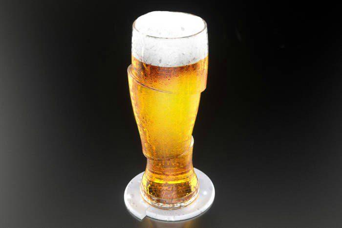 Креативные бокалы для пива