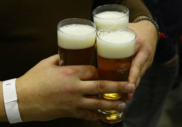Житель Чехии выпивает 3-4 бокала пива в неделю