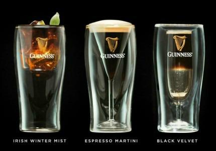 пивные бокалы Guinness