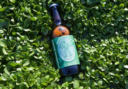 Watercress Warrior beer