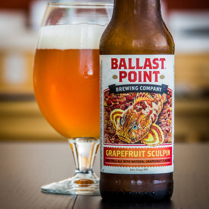Ballast Point Grapefruit Sculpin (Constellation Brands)