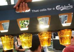 Карлсберг сократил продажи пива на один процент