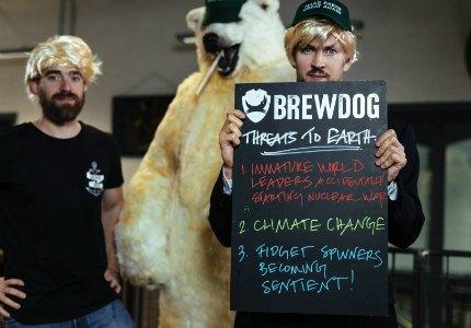 BrewDog намерены пивом «поколебать мир плечами»