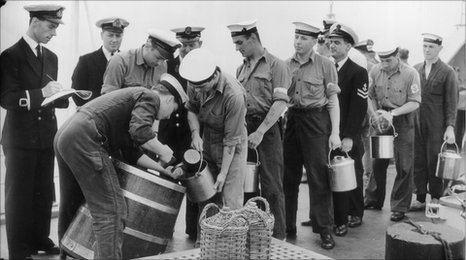 Моряки в Британии получали алкоголь