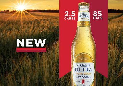 Пиво из органического солода Michelob Ultra Pure Gold