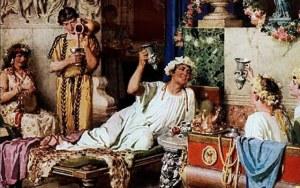 алкоголь в Древнем Риме