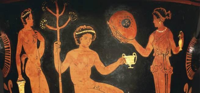 алкоголь в Древней Греции
