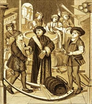 Пиво в истории. Период Средневековья