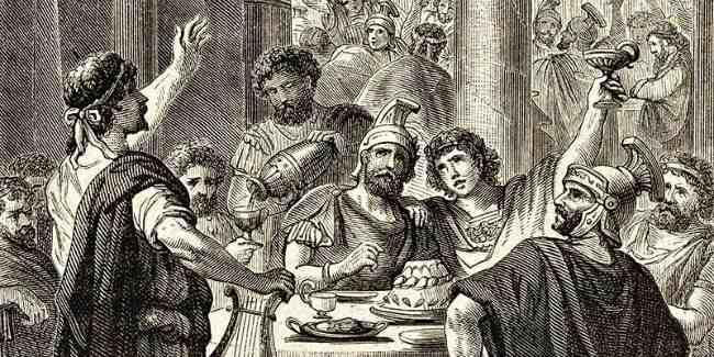 пьянство в Риме