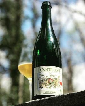 винно-пивной гибрид Cantillon Vigneronne